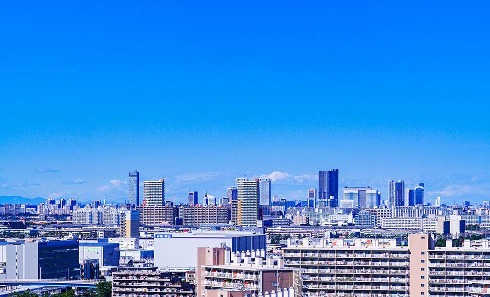 千葉市街の画像