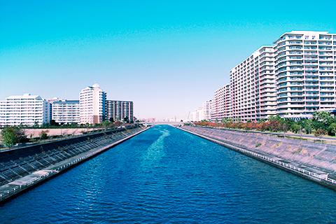 浦安市境川周辺の画像