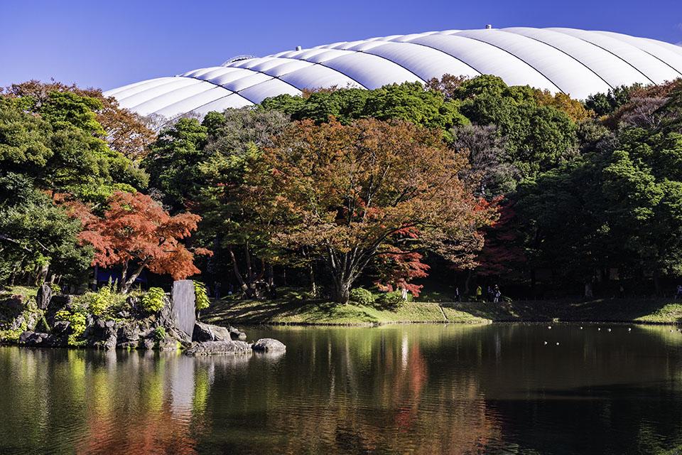 文京区にある小石川後楽園画像