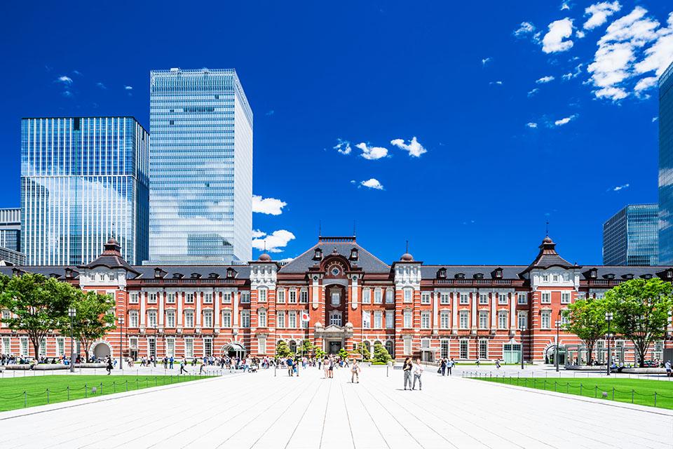 千代田区にある東京駅画像