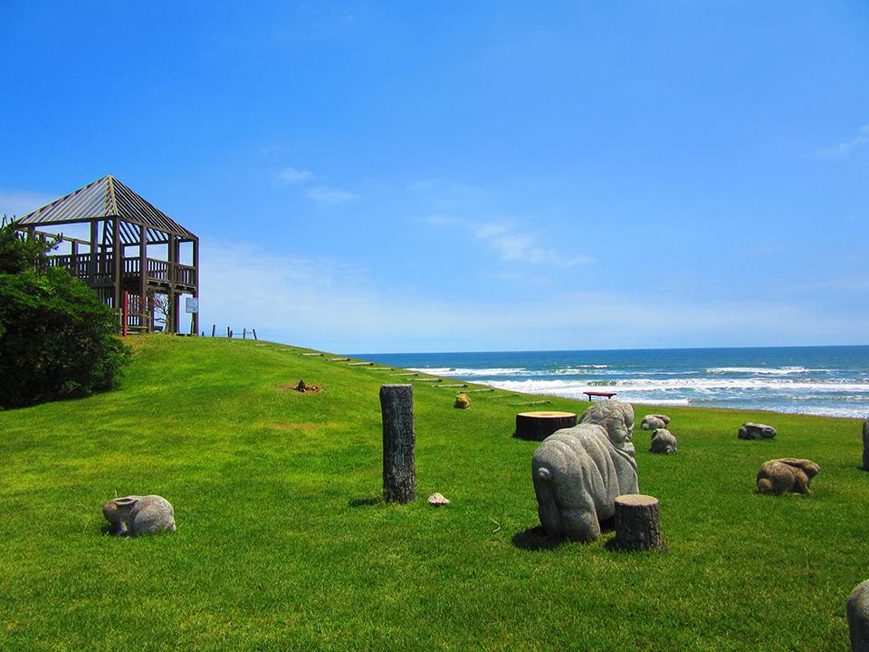 鉾田市にある鹿島灘海浜公園画像