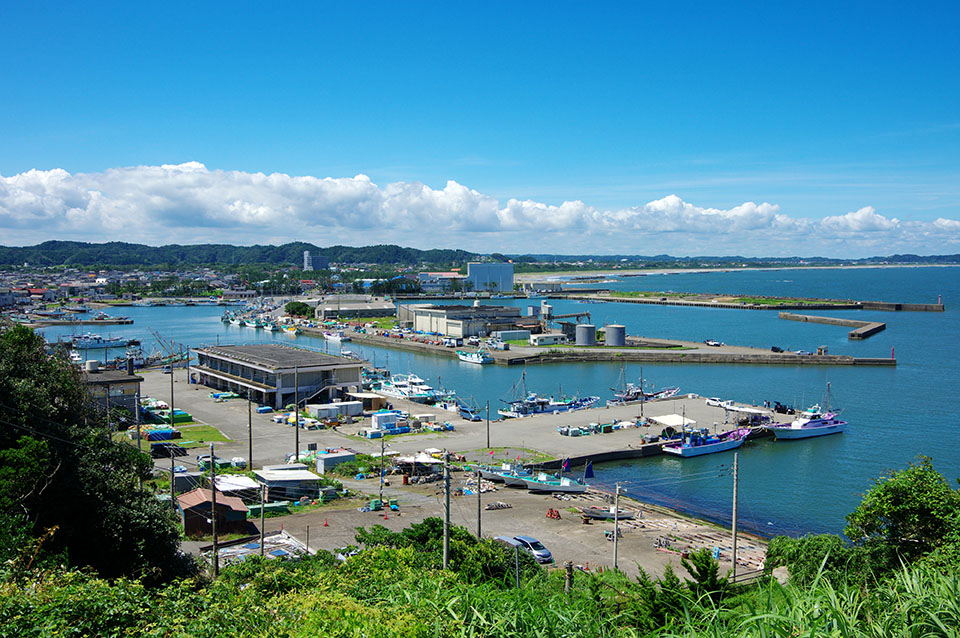 いすみ市大原漁港の画像