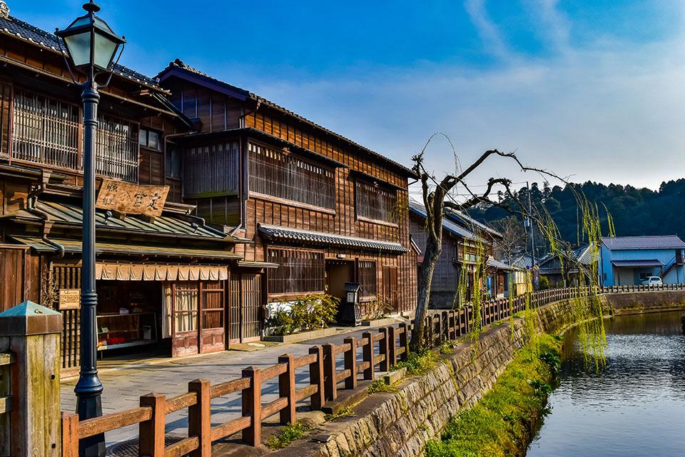 香取市にある水郷の町さわら周辺の画像