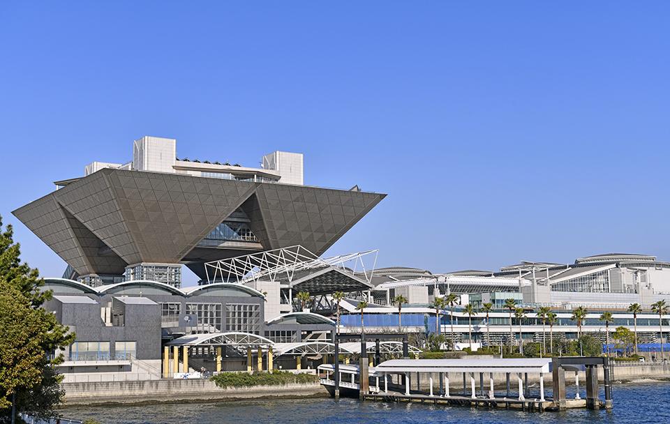 江東区にある東京ビッグサイト画像