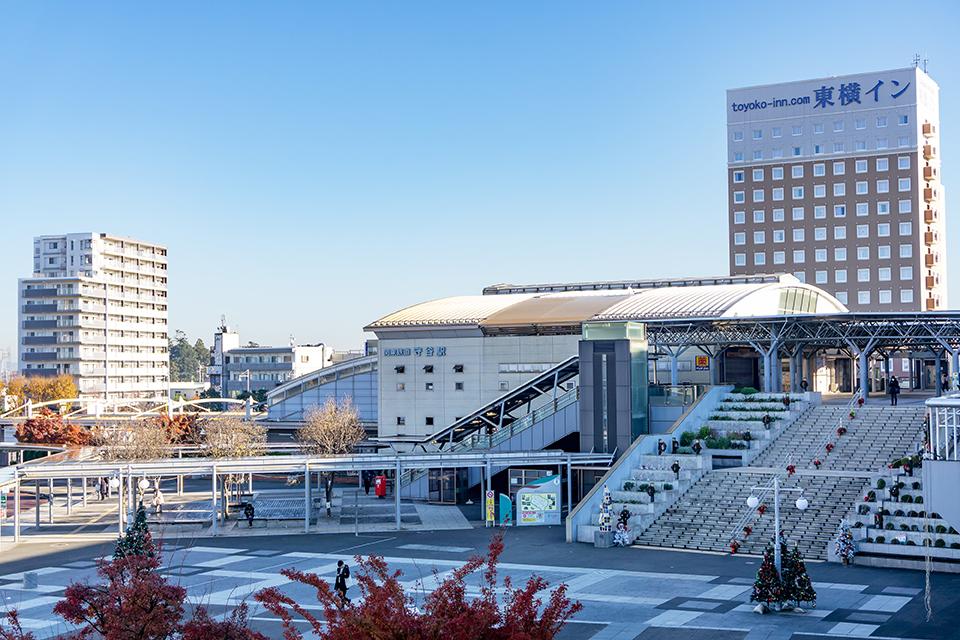守谷駅周辺の画像
