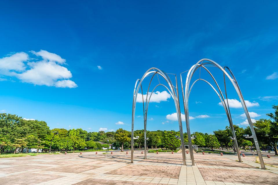 練馬区にある光が丘公園画像