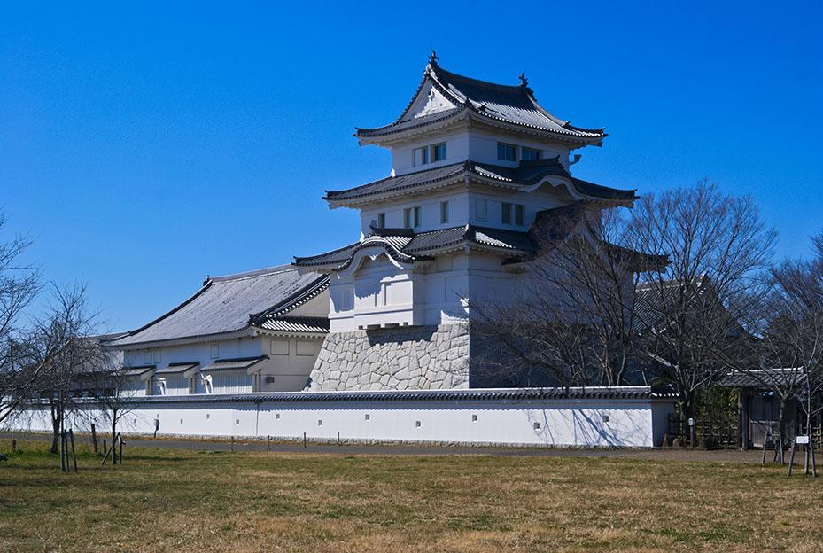 野田市にある関宿城の画像