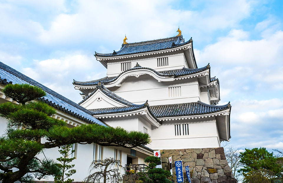 大多喜町にある大多喜城の画像