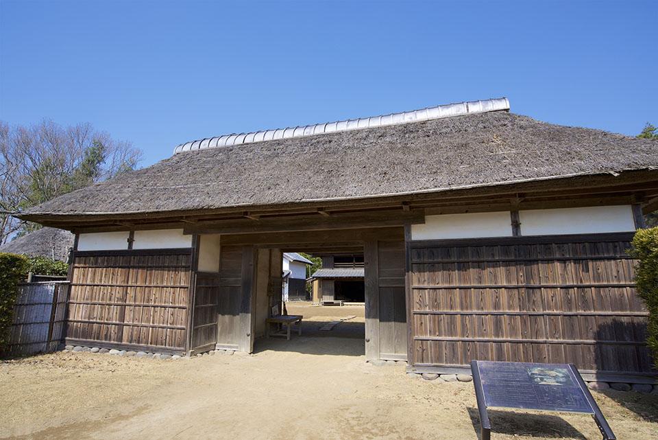 栄町にある房総のむらの上総の農家の画像